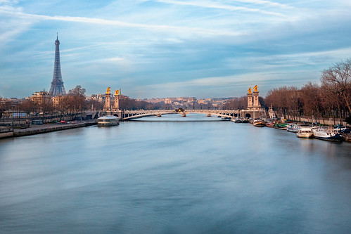 Overlooking the Seine | by IRRphotography