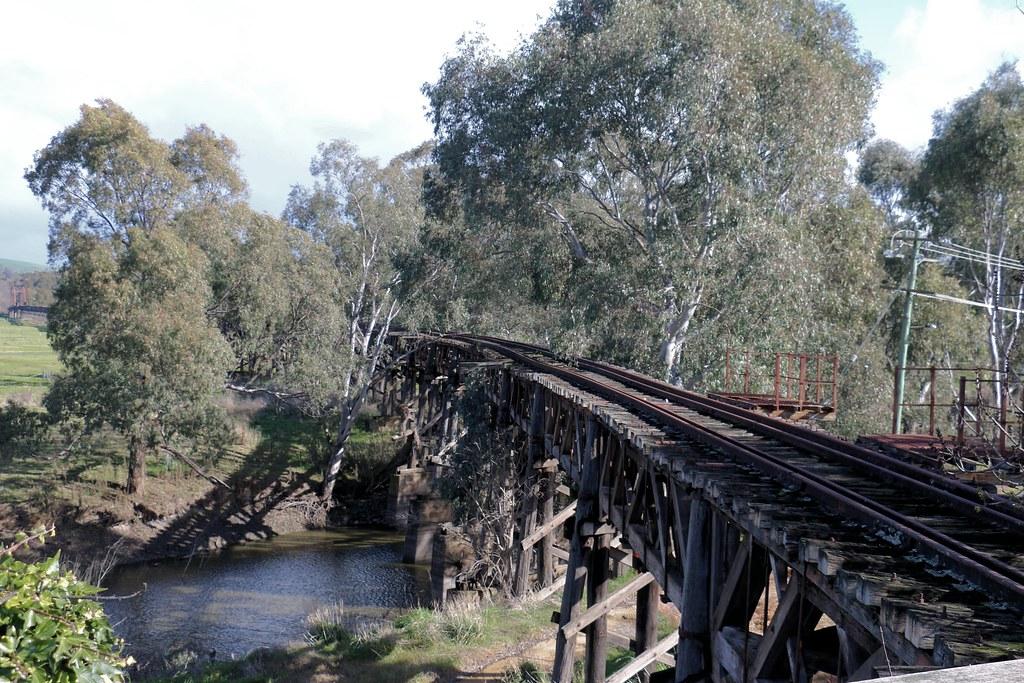 Old Railway Bridge, Gundagai - 1 by Jungle Jack