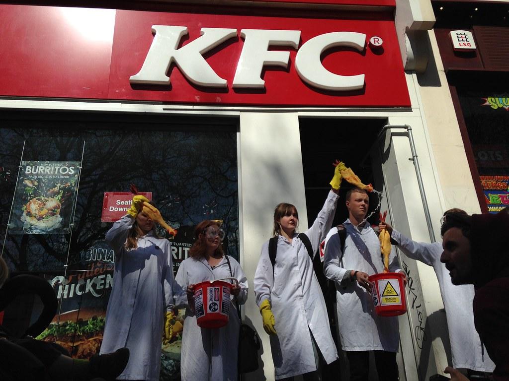 KFC chlorine-washed chicken