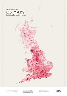 OS Maps: Britain's favourite routes | by Ordnance Survey