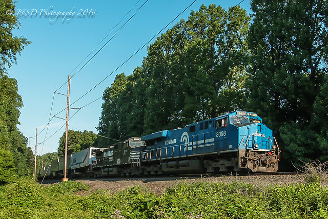 NS GE ES44AC #8098 @ Feasterville, PA