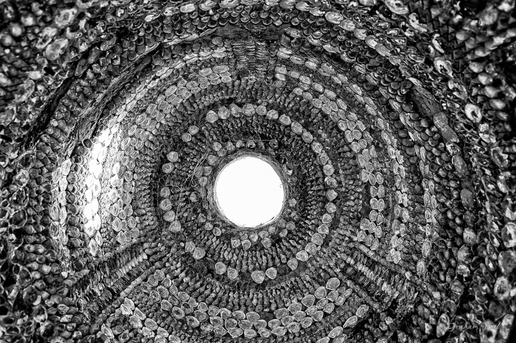 Shell Grotto Roof