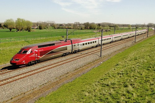 Belgian High Speed - Thalys PBA in the direction of Brussels. | by Franky De Witte - Ferroequinologist