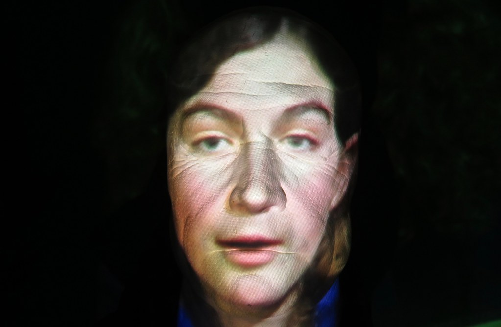 Life Cast Projection Test | My friend Jean Bolte (a k a  Dr