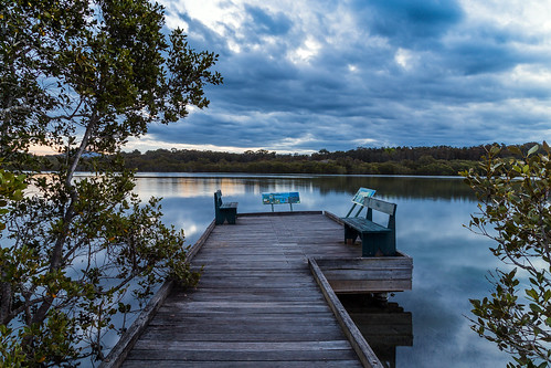 australia newsouthwales nsw midnorthcoast urunga lagoon boardwalk mangrove canonef24105mmf4lisusm sunset canoneos6d