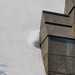 Snow Compounded behind Parapet