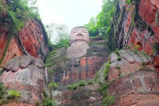 Leshan Giant Buddha   by mzcrazymz