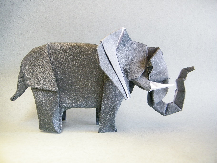 Origami Elephants - Page 1 of 5 | Gilad's Origami Page | 684x912