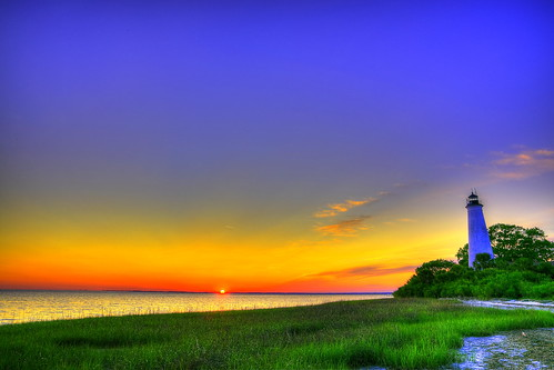 sky lighthouse scenery florida memory stmarks sunset日落 canon6d trip旅行 shadow光影 2470f28ii onizgaex lighting光明