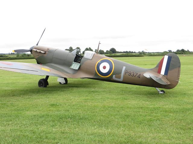 G-MKIA P9374 LAA Airshow Old Warden 15 June 2014