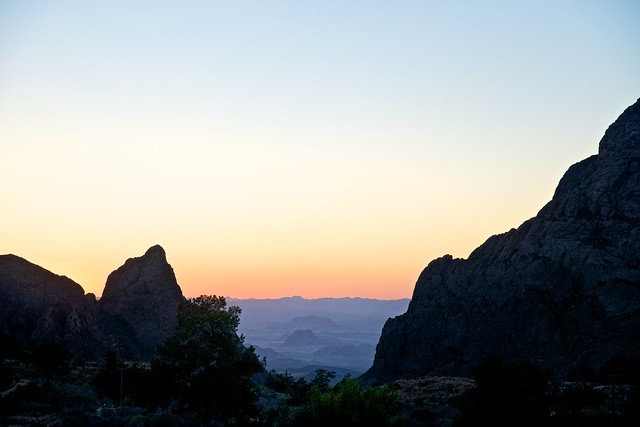 The Window and Beyond (Big Bend National Park)