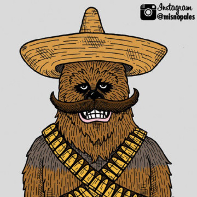 May The Fourth Be With You Wookie: May The Fourth Be With You. And Cinco De Mayo Too! #maythe