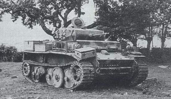 "Discapacitados Panzerkampfwagen II Ausf. L ""Luchs"""