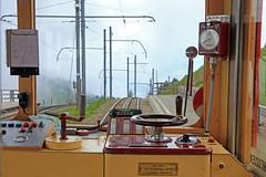 Control Stand of the Rigi Railway