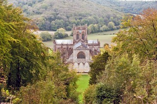 Milton Abbey from St Catherine's Chapel