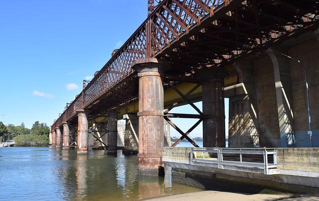John Whitton Bridge at Meadowbank, Sydney