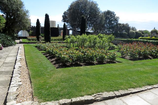 Brownsea Castle gardens