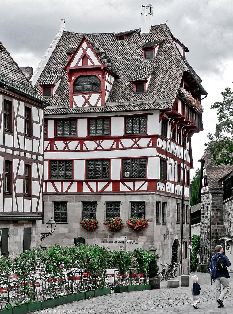 Albrecht Dürer Haus in Nürnberg | In diesem Haus wohnte Albr ...