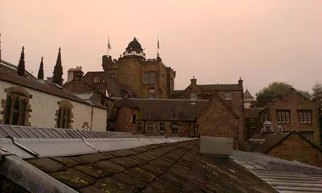 Edinburgh rooftop with The Coach