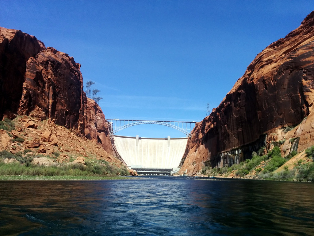 Colorado River Discovery >> Glen Canyon Dam Colorado River Discovery Smooth Water Raf