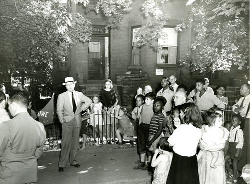 136 Adams Street NW being sold at auction, September 12, 1941 | by mappingsegregation