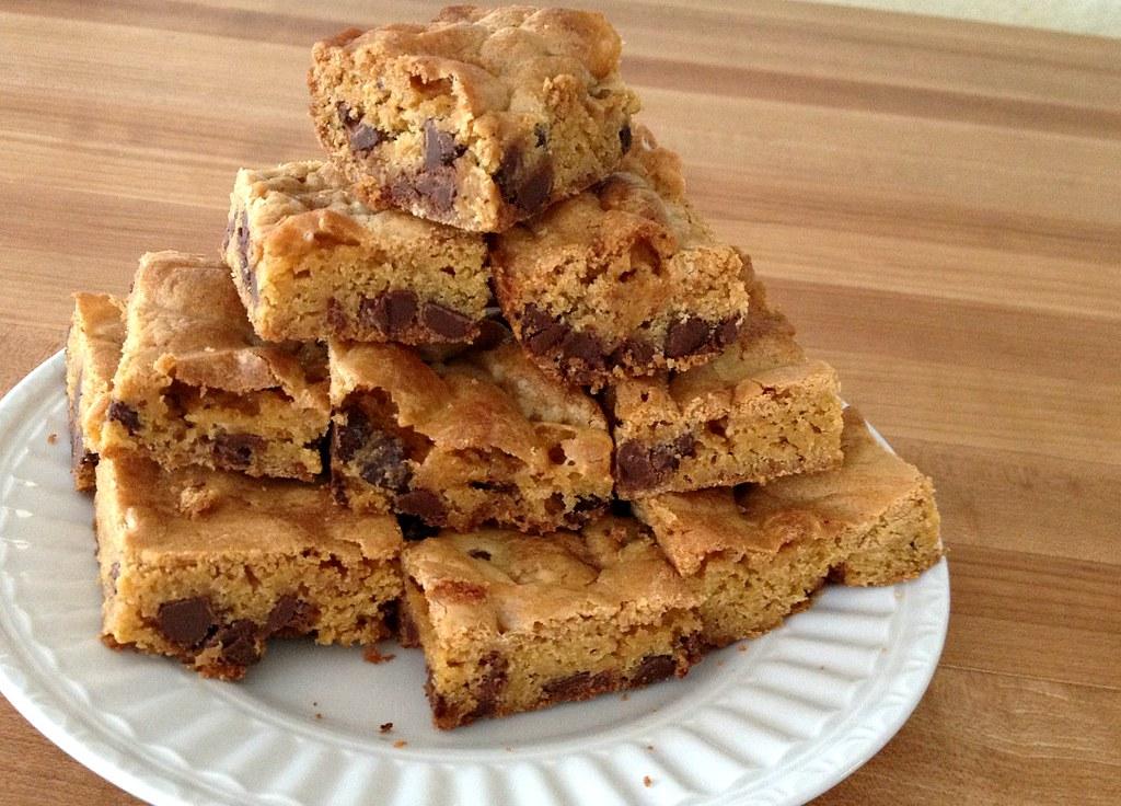 blondie cookie bars