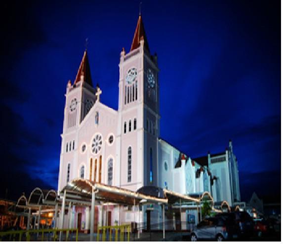 berna-baguio catholic cathedral