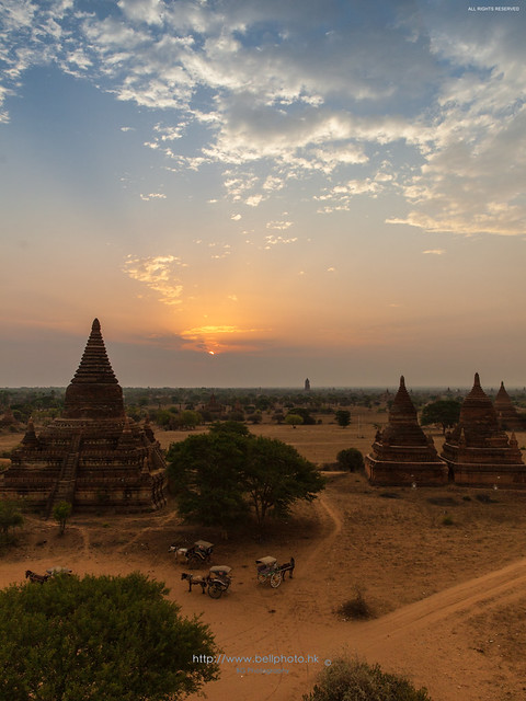 Start of the day :: Bagan (蒲甘), Myanmar