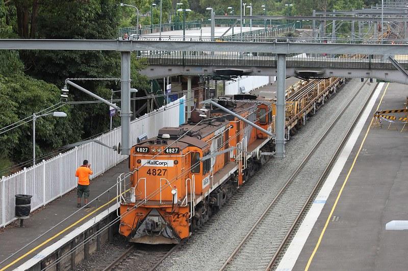 Orange Railcorp 48 class by David Arnold