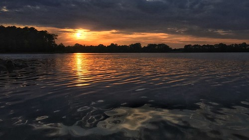 sunset sky reflection nature clouds river landscape magic maryland iphone6