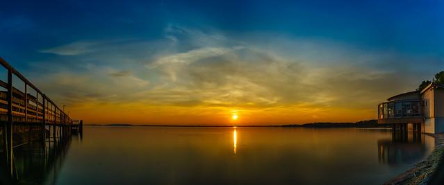 Chiemsee Sunset I