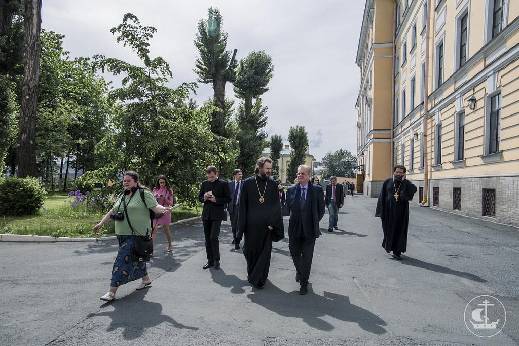 30 мая 2016, Делегация Государственного Эрмитажа в Духовной Академии / 30 May 2016, The delegation of the State Hermitage at the Theological Academy