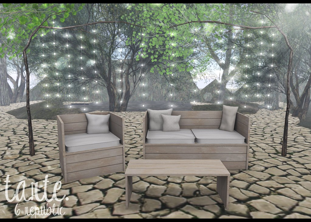 Tarte Patio Pallet Set For 6 Republic Out Tonight At Midn Flickr