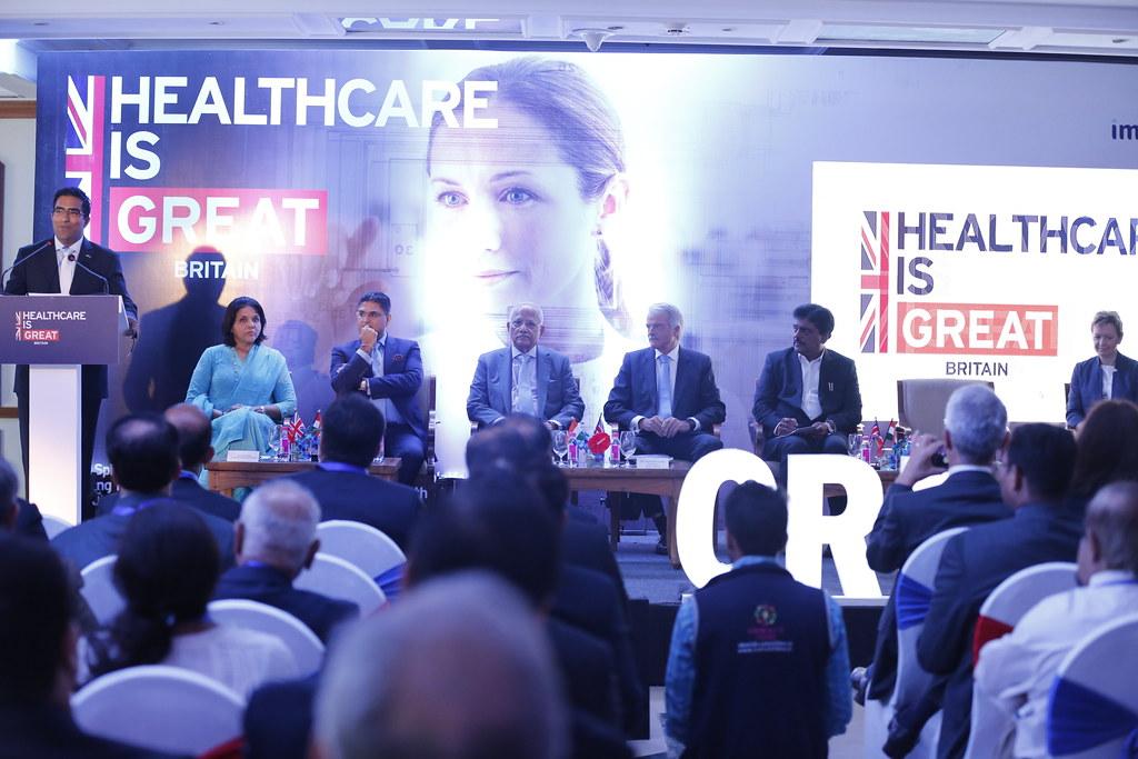 UKTI Smart Healthcare Trade Mission in India | Kumar Iyer, B
