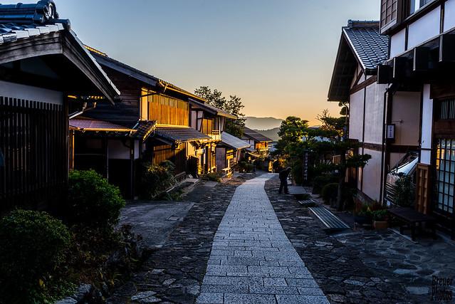 Magome Village, Japan in October 2015