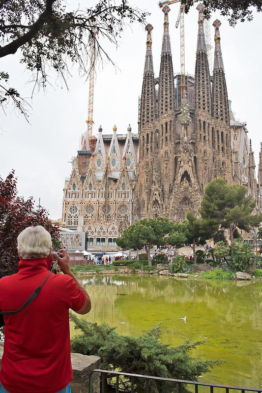 La Sagrada Familia y el fotógrafo