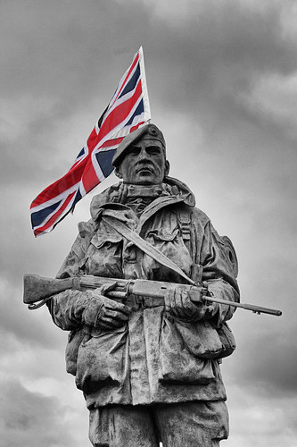 Royal Marines Yomper Statue | by Hexagoneye Photography