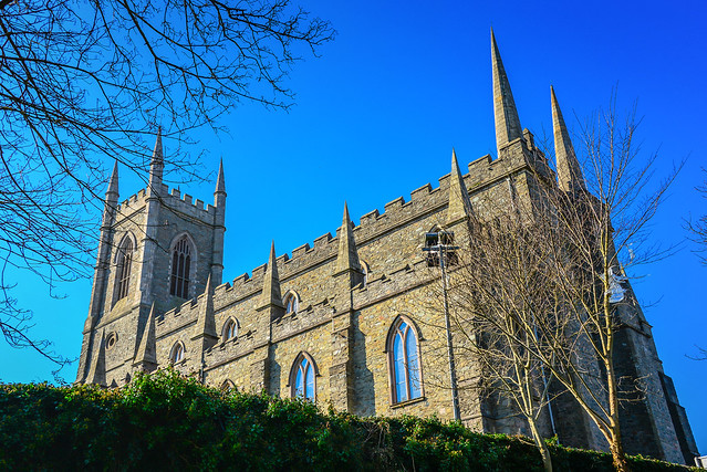 Down Cathedral in Downpatrick Northern Ireland
