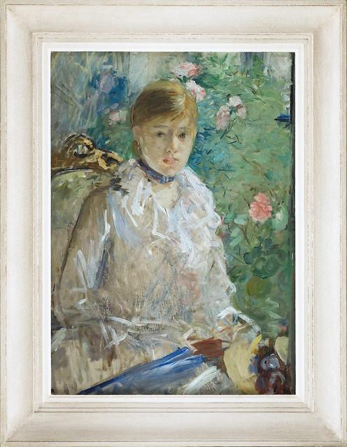 Berthe Morisot -  Jeune femme à la fenêtre, aka L'été -