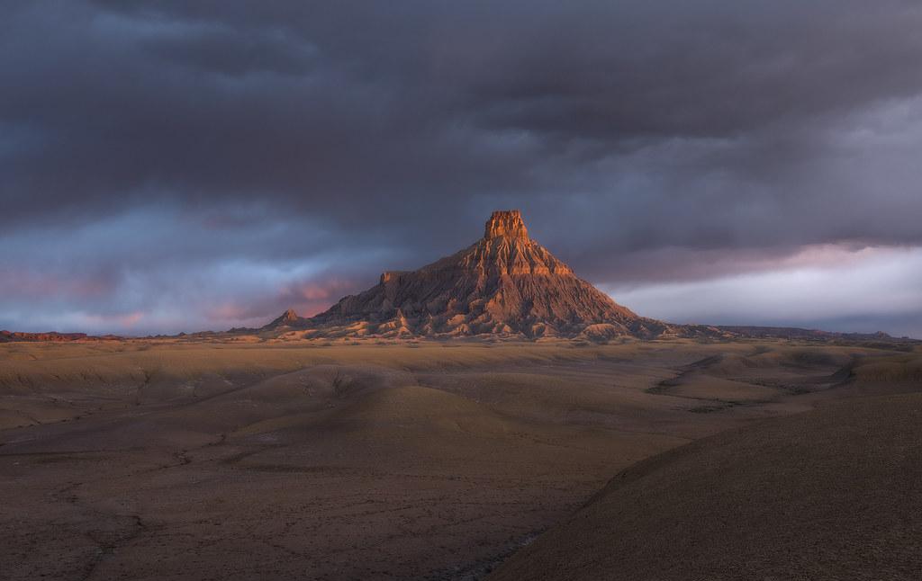 Utah Badlands Flickr