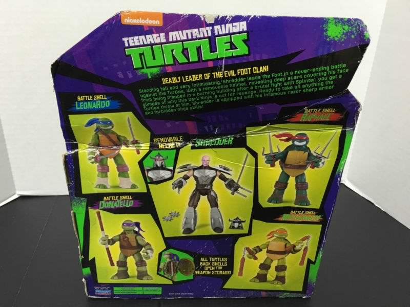"Nickeodeon TEENAGE MUTANT NINJA TURTLES :: 11"" 'Battle Shell' SHREDDER iv  (( 2014 ))  [[ ebay pic ]] by tOkKa"