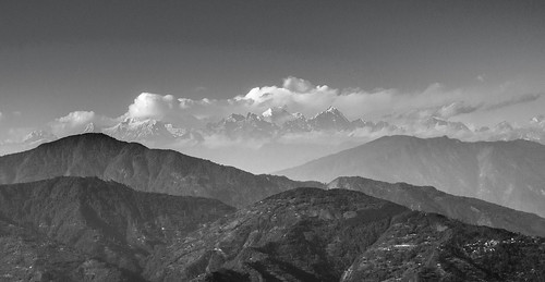 blackandwhite india mountains clouds landscape nikon outdoor himalaya kalimpong kanchenjunga travelphotography d5100