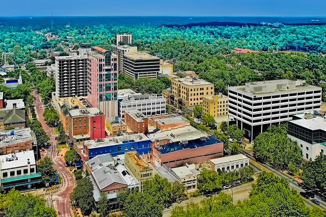 17338150654 05bae2fe18 z The skyline of the city of Tallahassee, Florida, U.S.A., the capital of the Sunshine State
