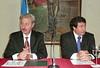 Enrique Oliveri y Daniel Arroyo