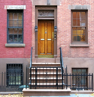 Front door (1839), 180 Waverly Place, Greenwich Village, New York City | by Spencer Means