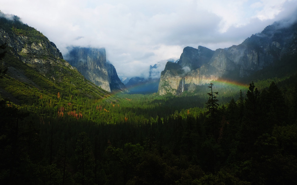 Tunnel View, Yosemite NP, California, USA
