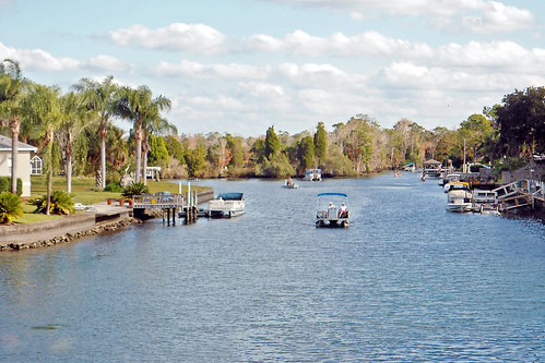 water boats scenery florida waterway crystalriver