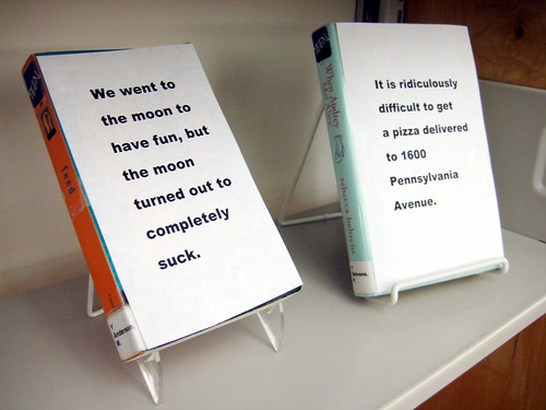 First Line Book Display Closeup | by herzogbr