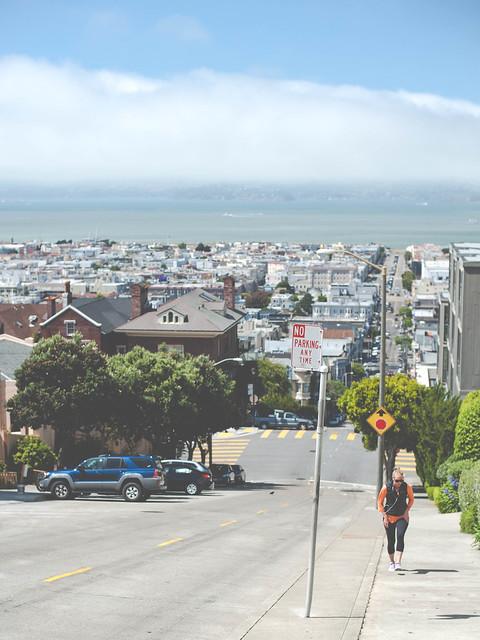 San Francisco in Filmore St