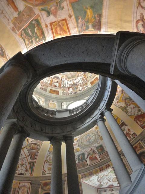 Caprarola - La Scala Regia di Palazzo Farnese